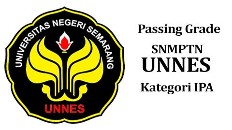 passing grade snmptn unnes kategori ipa