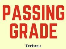 passing grade