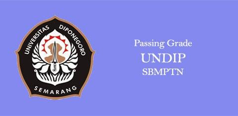passing grade undip sbmptn