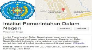 Panduan Pendaftaran IPDN Secara Online