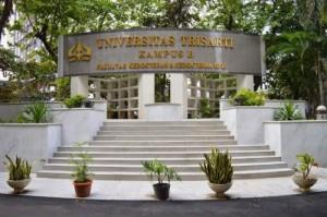 Program Studi di Universitas Trisakti