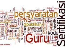 Pengumuman Pendaftaran Sertifikasi Guru