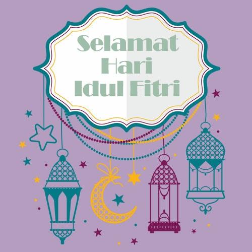 Ucapan Idul Fitri Sederhana