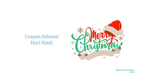 ucapan selamat hari natal dan tahun baru