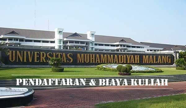 Universitas muhammadiyah malang pendaftaran biaya kuliah