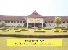Pendaftaran IPDN - Institut Pemerintahan Dalam Negeri