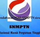pendaftaran PDSS SNMPTN siswa