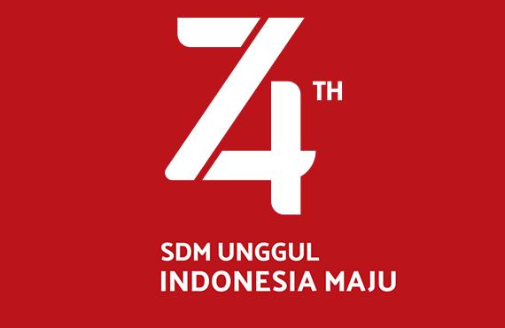 logo hari ulang tahun indonesia 2019