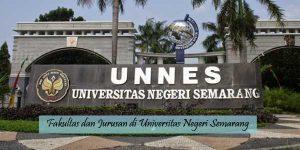 Fakultas dan Jurusan di Unnes