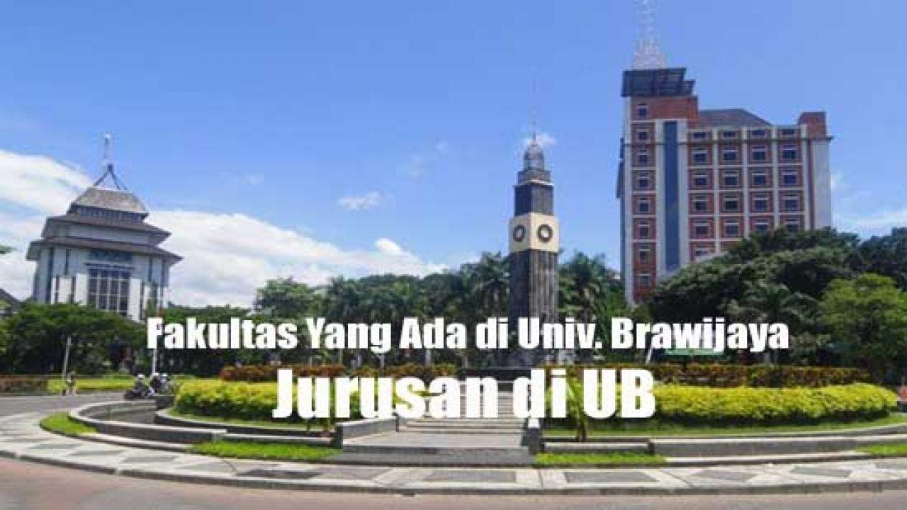 Jurusan di UB - Fakultas Yang Ada di Universitas Brawijaya