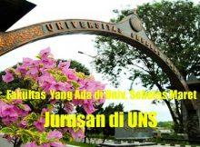 Jurusan di UNS