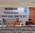 Pengumuman SBMPTN 2017 PTN Menerima Peserta Terbanyak