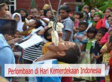 Perlombaan di Hari Kemerdekaan Indonesia