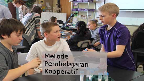 metode pembelajaran kooperatif
