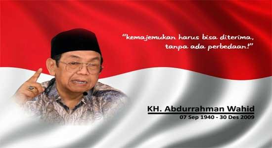 Presiden Gusdur untuk kemerdekaan