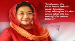 Presiden Megawati Soekarnoputri untuk kemerdekaan