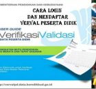 Verval PD verval peserta pendidik