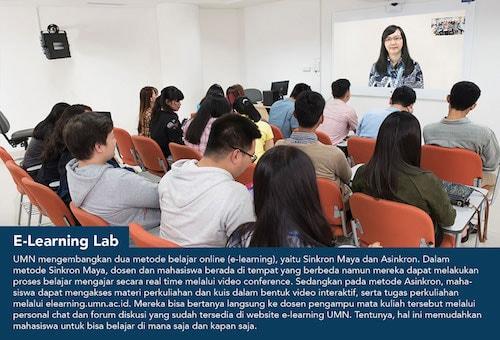 E-learning-lab, Fasilitas UMN