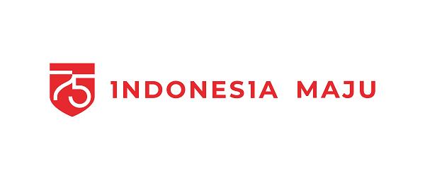 logo horizontal background putih hut ri 2020 indonesia maju