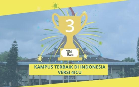 hasil peringkat universitas terbaik di Indonesia 2018 versi UniRank