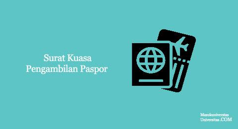 surat hak kuasa pengambilan paspor