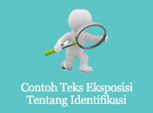 contoh teks eksposisi tentang identifikasi
