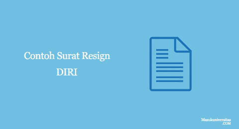 surat pengunduran diri document