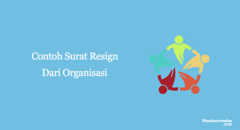 surat resign dari organisasi