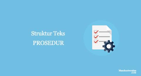 struktur teks procedure