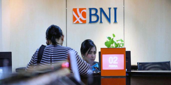Aktivasi melalui Bank BNI