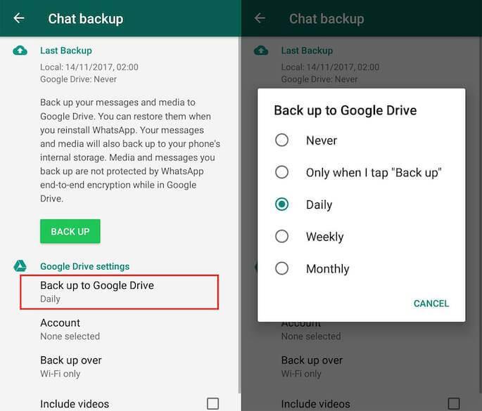 Backup Semua Data yang Ada di WhatsApp