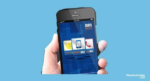 Buka aplikasi pilih menu Internet Banking BRI pada tampilan awal