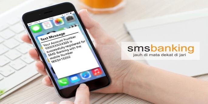 Cara Bertransaksi dengan SMS Banking di HP