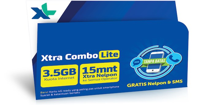 Cara Daftar Paket Internet XL Axiata Xtra Reguler