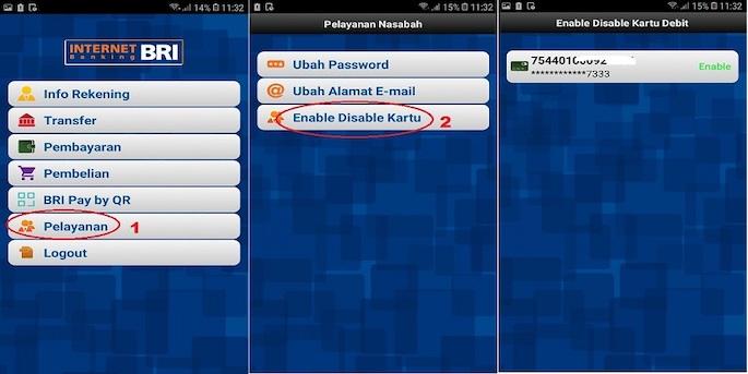 Cara Memblokir ATM BRI Lewat BRI Mobile