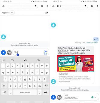 Cara Mengetahui Sisa Pulsa Smartfren Melalui SMS