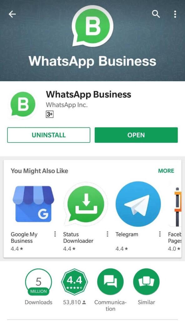 Cara Mengunduh Whatsaap Bisnis