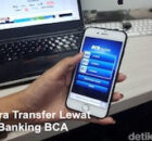 Cara transfer lewat m-banking bca