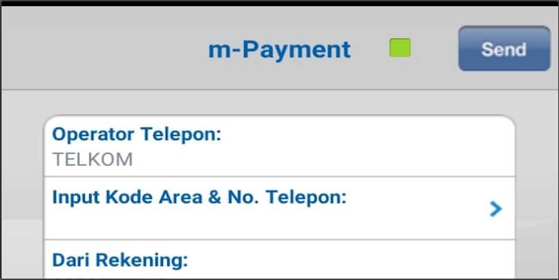 Dalam menu Telepon tersebut, banyak juga pilihan provider. Pilih Telkom untuk membayar tagihan Indihome