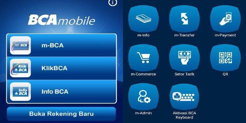 Fitur Layanan Mobile Banking BCA