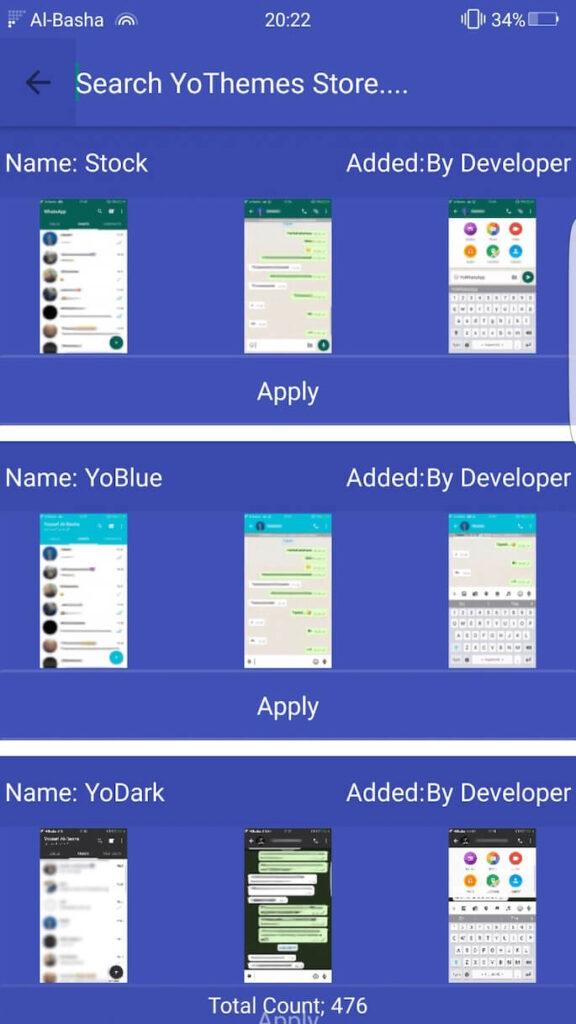 Ganti Tema Display WhatsApp