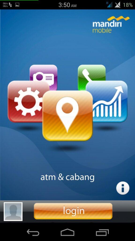 cara daftar m banking mandiri