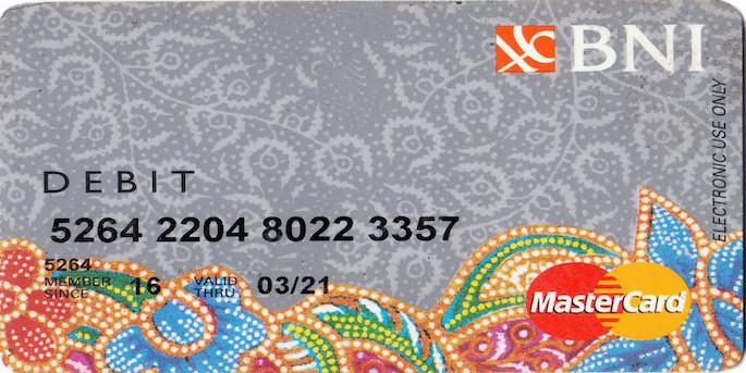 Lakukan aktivasi akun BNI Mobile Banking kemudian Sobat Edu akan mendapatkan nomor rekening serta kartu debit virtual