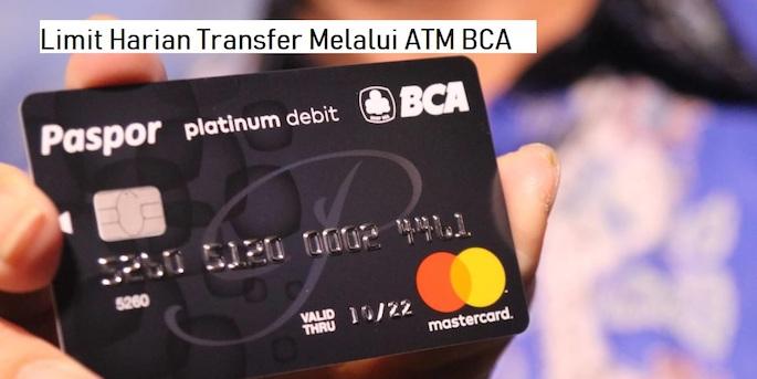 Limit Harian Transfer Melalui ATM BCA