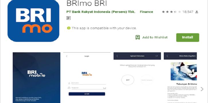 cara buka rekening bri membuat secara online