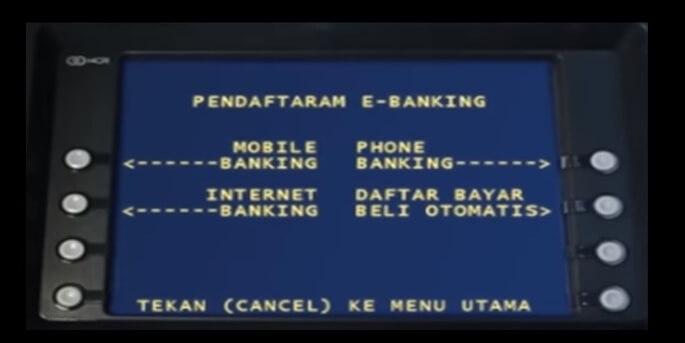Nanti akan muncul berbagai pilihan transaksi seperti Informasi Saldo, Informasi Pinjaman