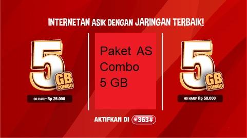 Paket AS Combo 5 GB
