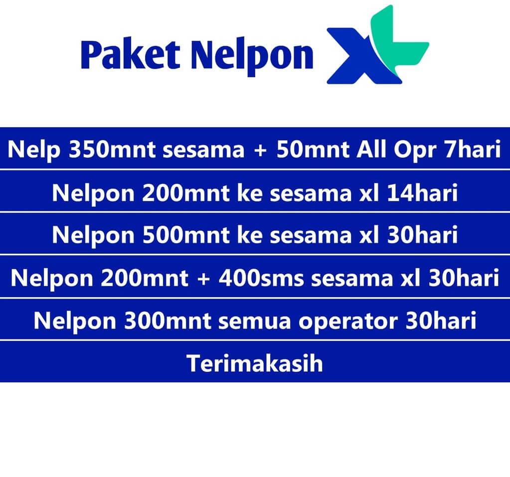 Paket untuk Nelpon ke Sesama XL