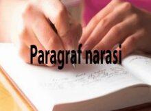 Paragraf Narasi (Pengertian, & Ciri-ciri, Jenis, Susunan)