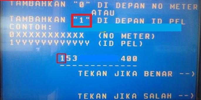 Sobat Edu bisa menginput 11 digit nomor meteran prabayar yang sudah disediakan dan tambahkan angka 0 pada bagian depan